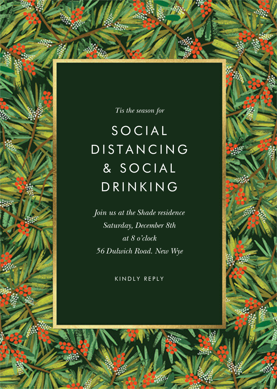 Pine - Rifle Paper Co. - Christmas party
