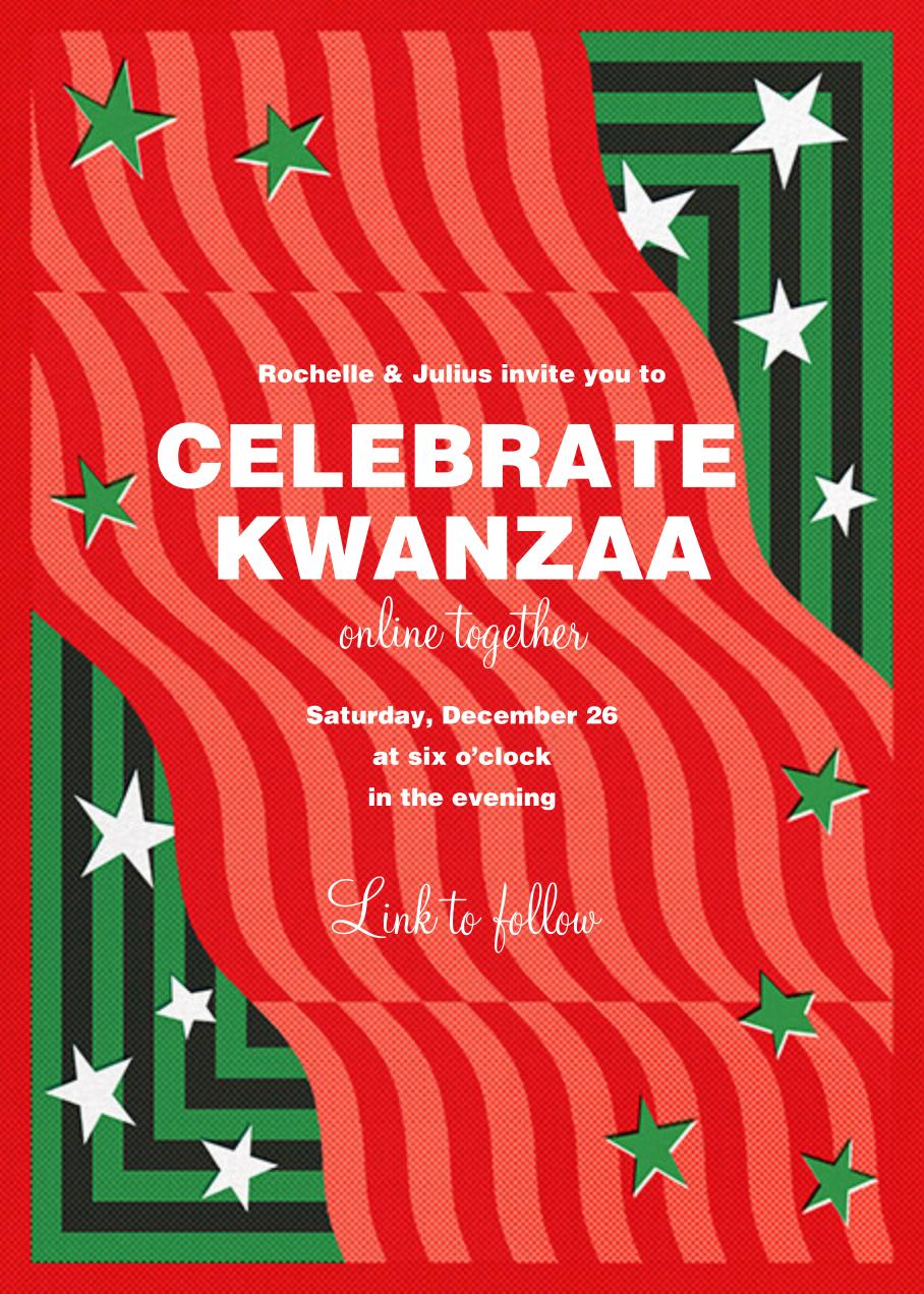 Waves of Change - Paperless Post - Kwanzaa