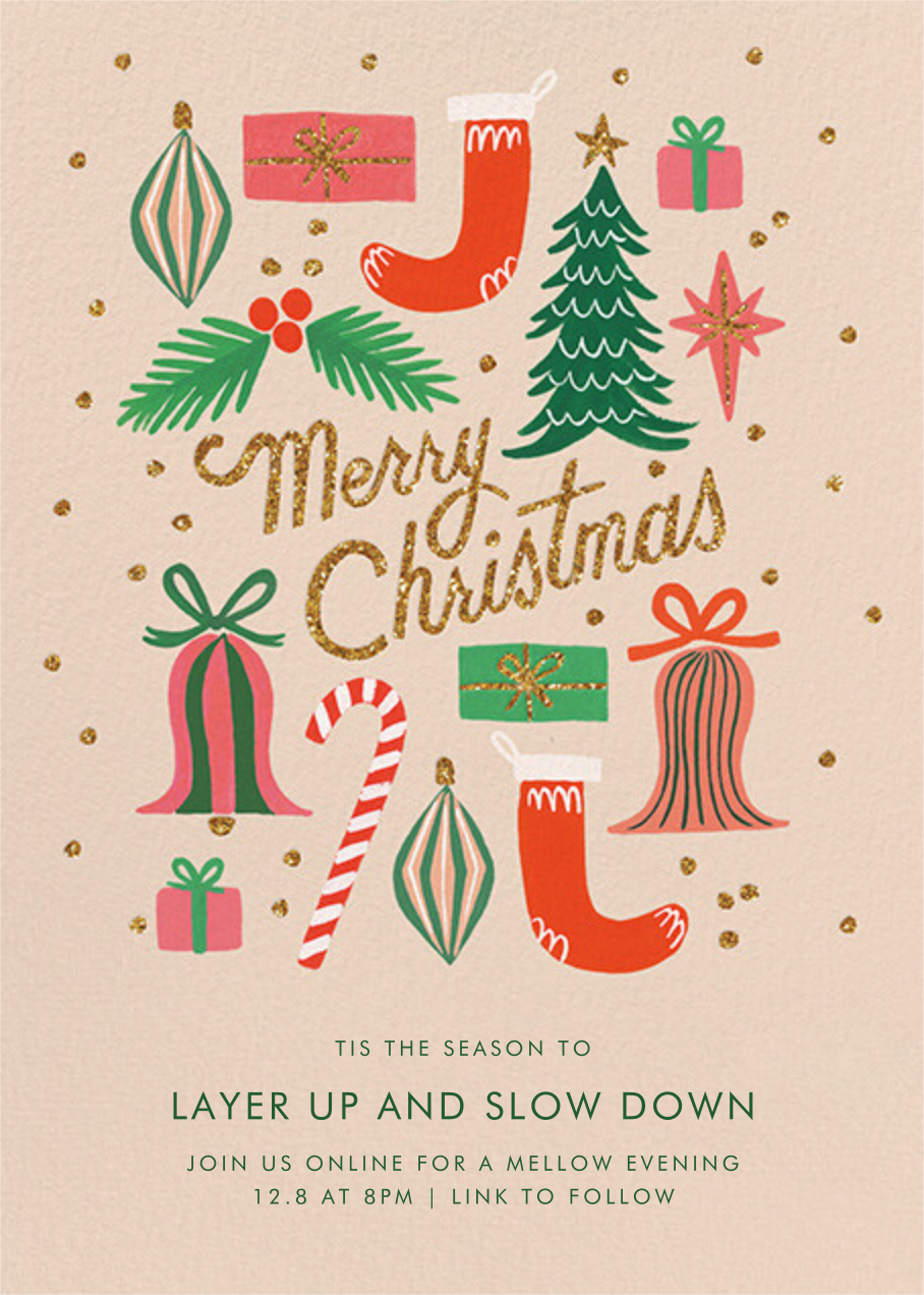 Christmas Spirit - Rifle Paper Co. - Christmas party
