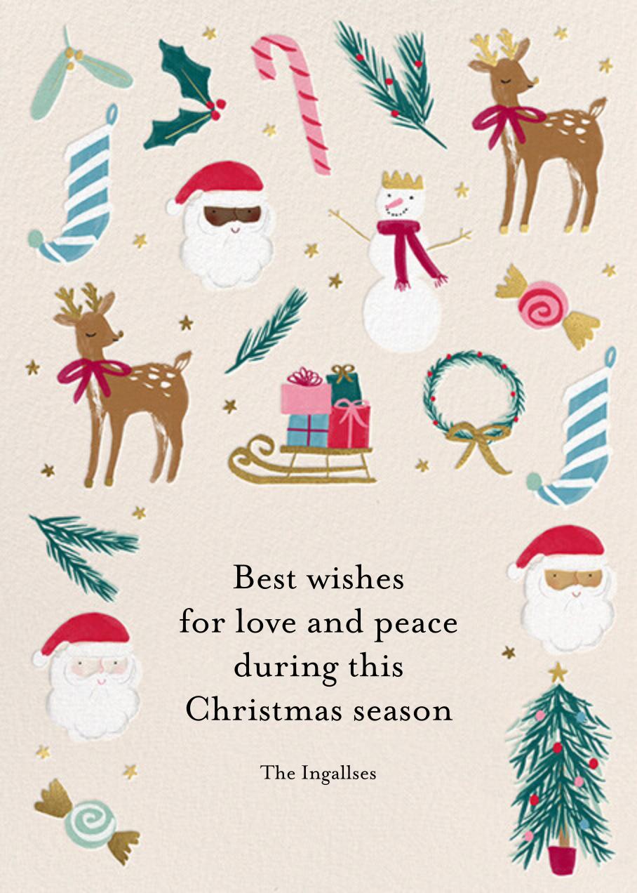 Christmas Classics - Meri Meri - Holiday cards