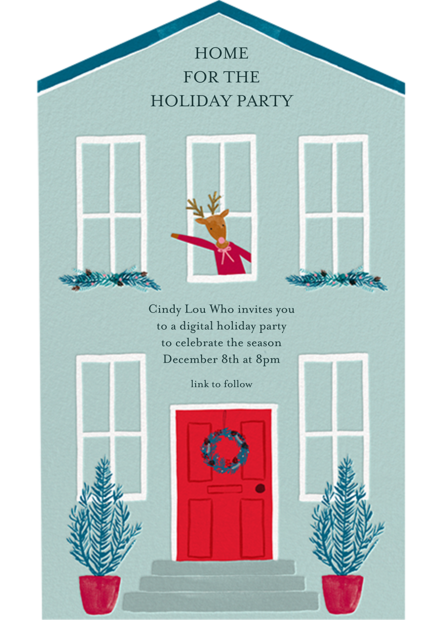Window Welcome - Meri Meri - Christmas party