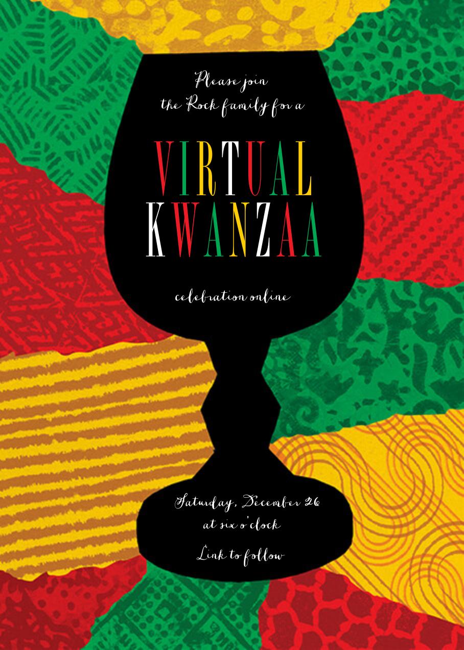 Joyous Kwanza (Invitation) - Paperless Post - Kwanzaa