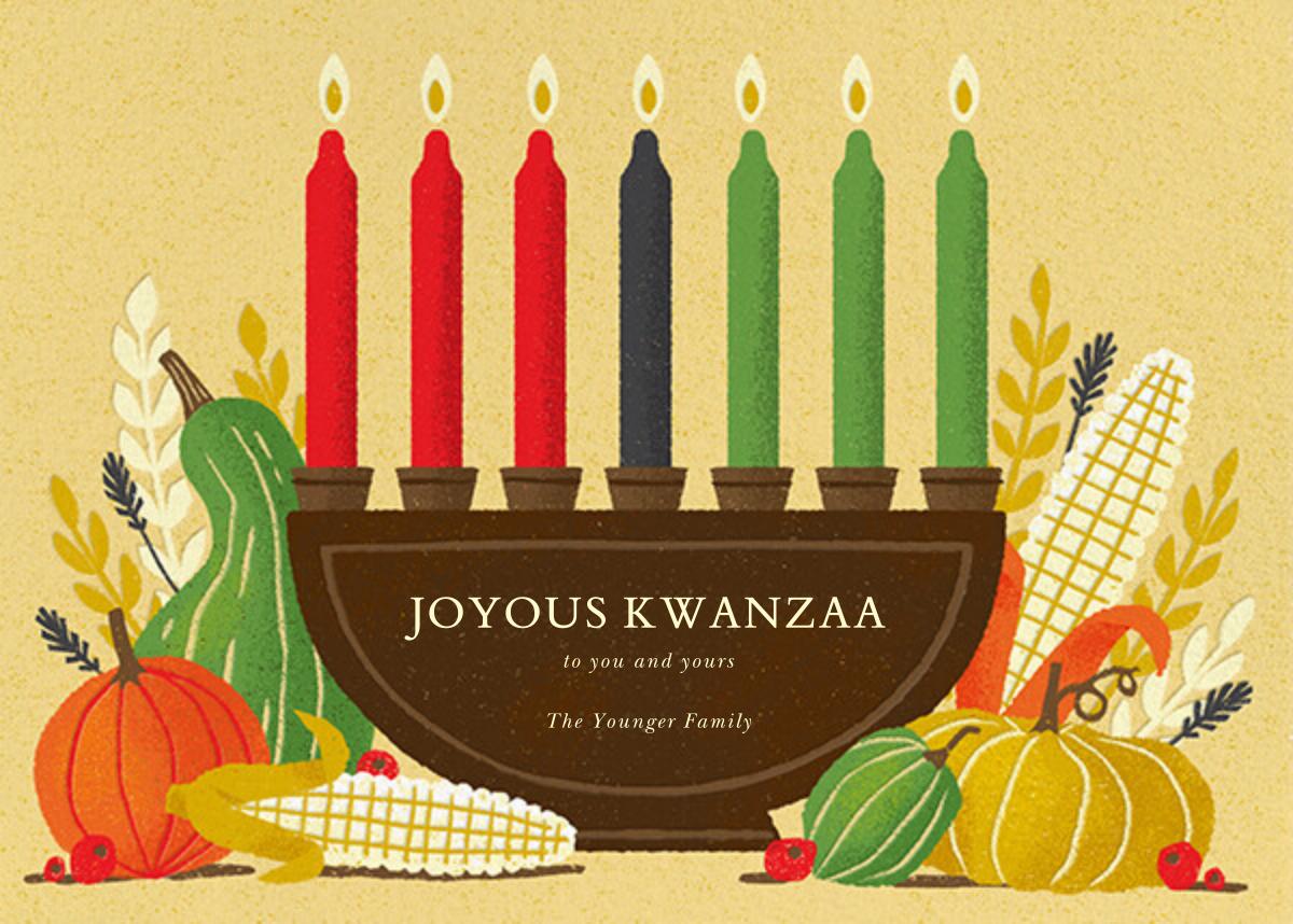 Shared Harvest (Greeting) - Paperless Post - Kwanzaa
