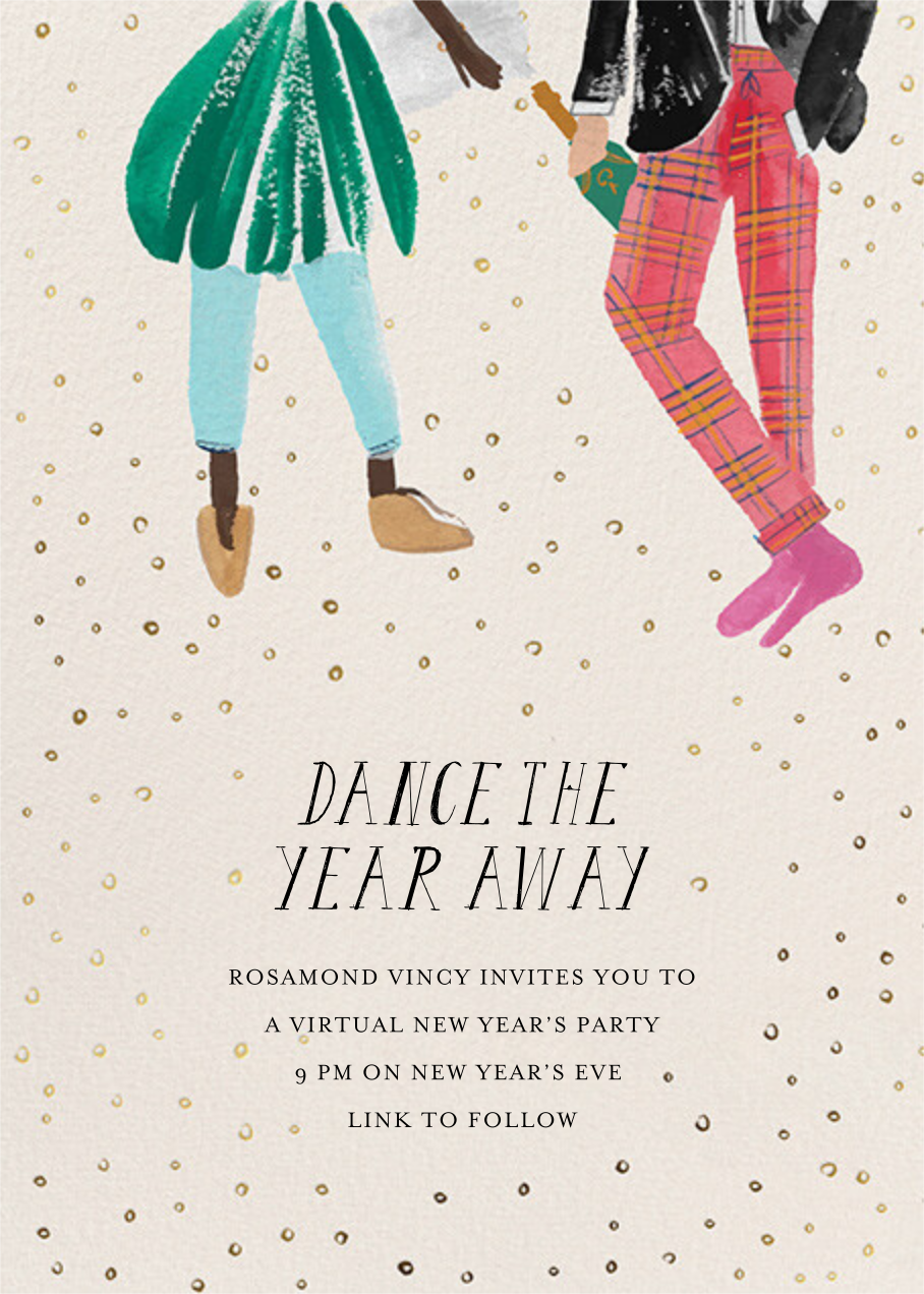 New Year's Dance - Deep/Fair - Mr. Boddington's Studio - New Year's Eve