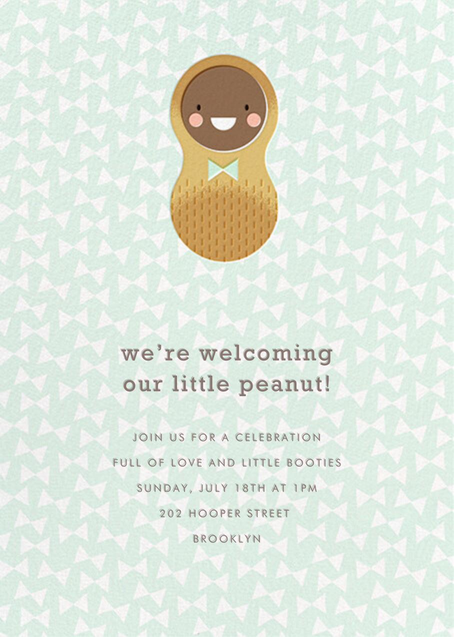 Little Peanut - Tan - Hello!Lucky - Baby shower