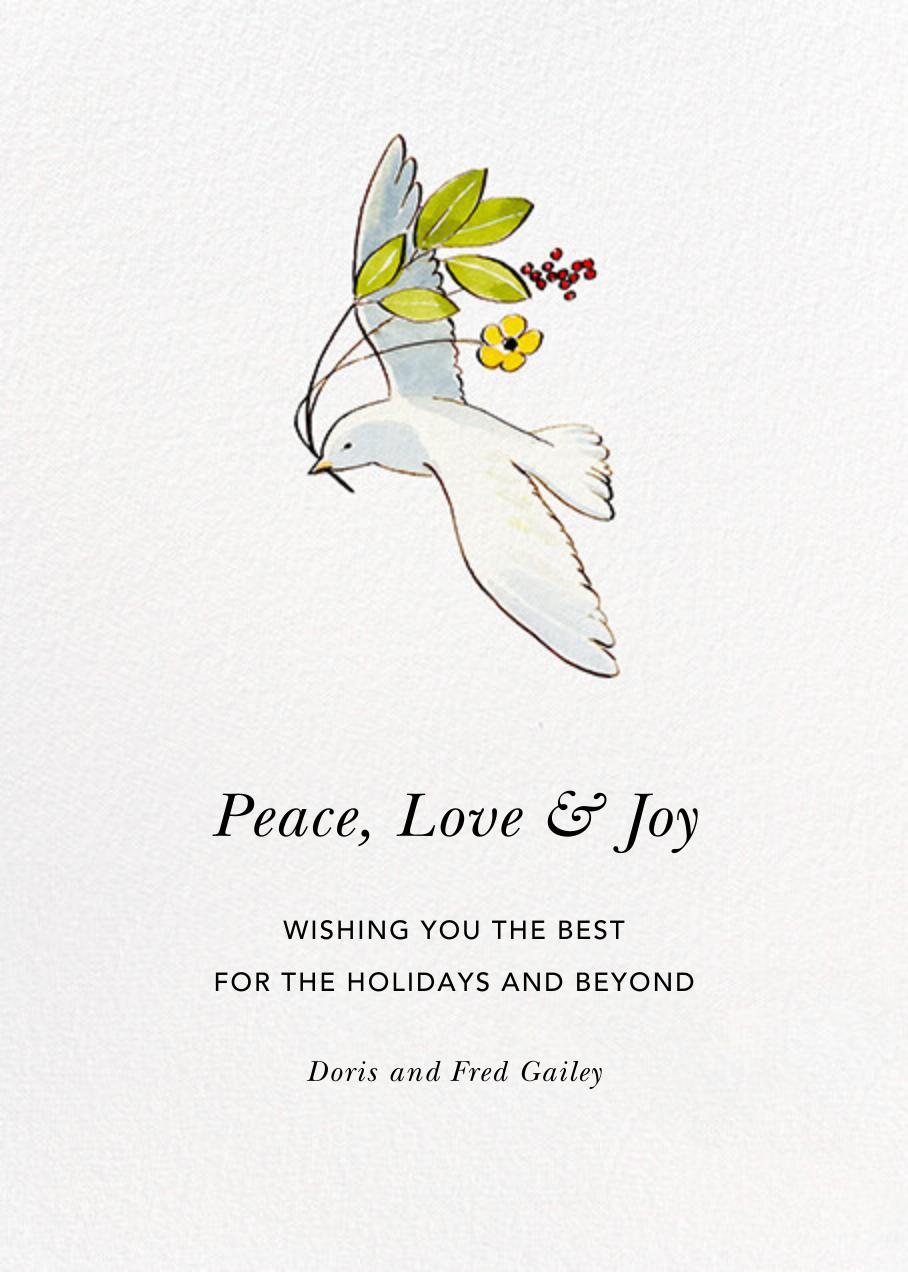 Peaceful Dove - Felix Doolittle - Holiday cards