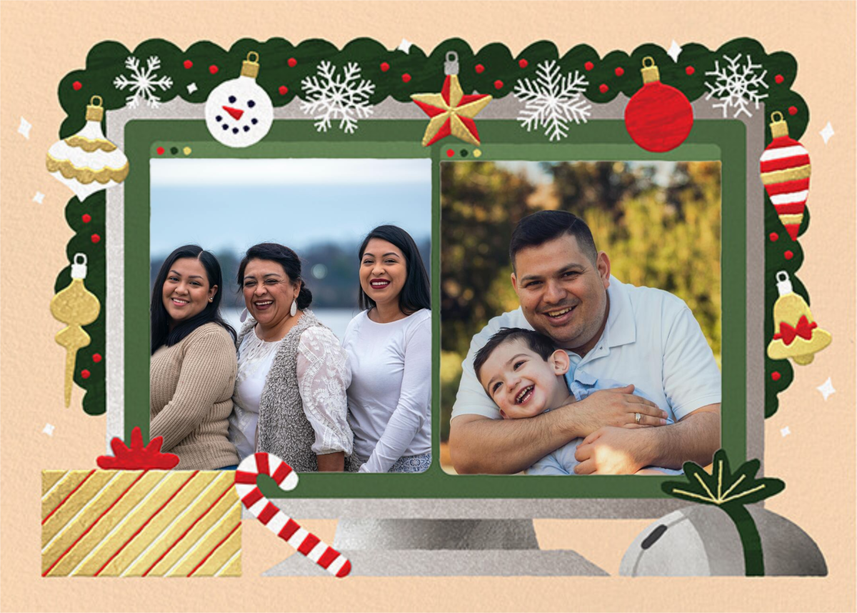 Home Screen (2 Photos) - Bellini - Paperless Post - Holiday cards