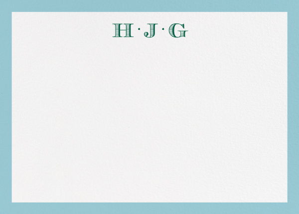 Pimlico - Light Blue - Paperless Post - Personalized stationery