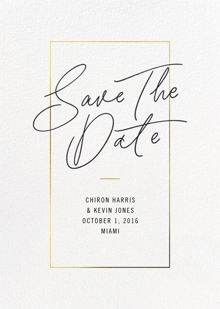 Love Scrawl - Paperless Post - Save the date