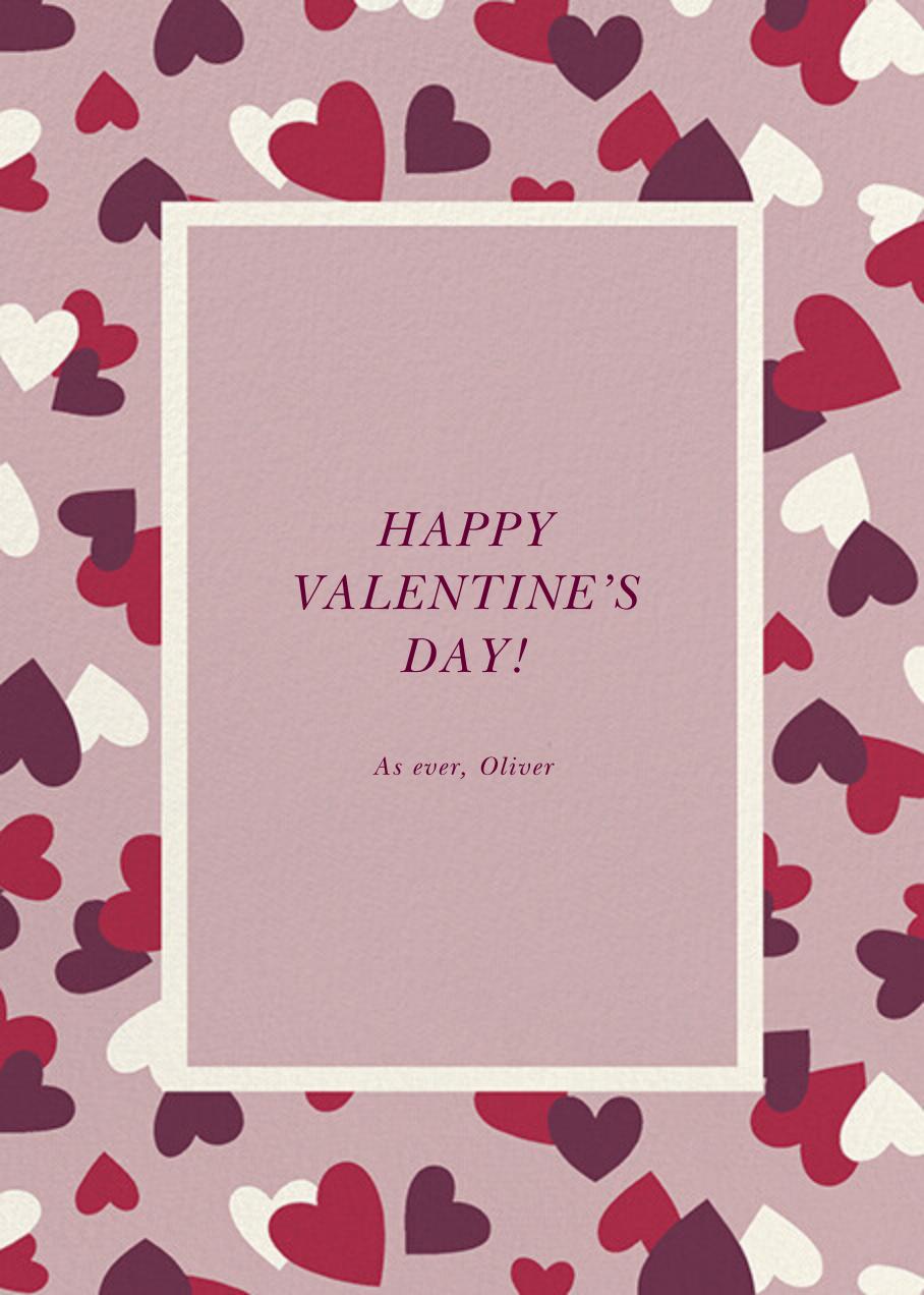 Falling Hearts - Tea Rose - kate spade new york - Valentine's Day