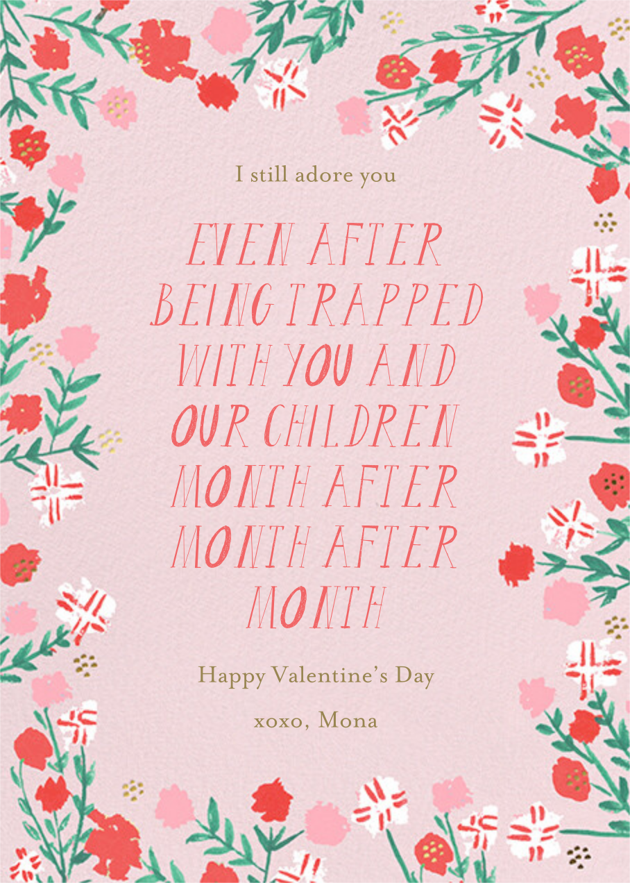 Together Always - Mr. Boddington's Studio - Valentine's Day