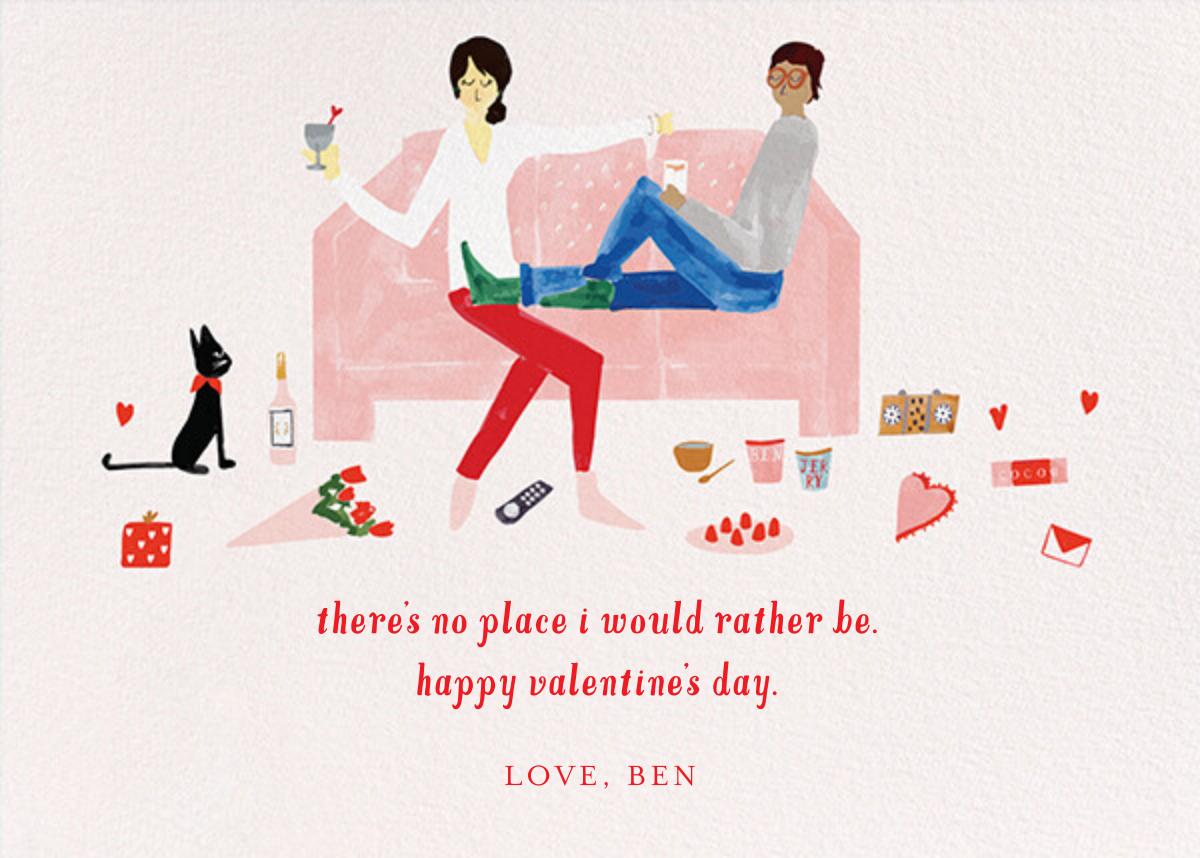 Love Seat - Light/Medium - Mr. Boddington's Studio - Valentine's Day