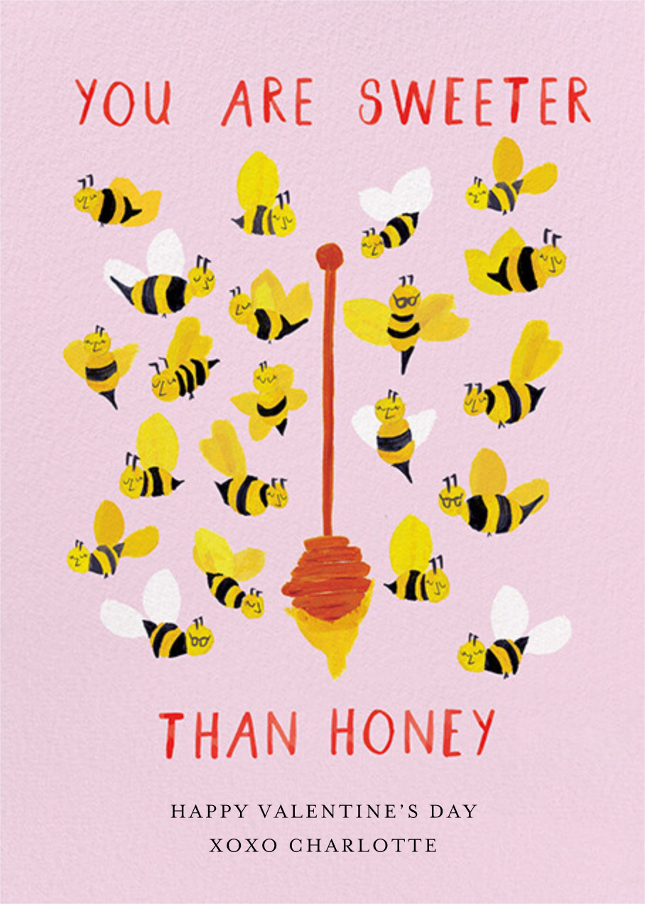 The Bee's Knees - Mr. Boddington's Studio - Valentine's Day