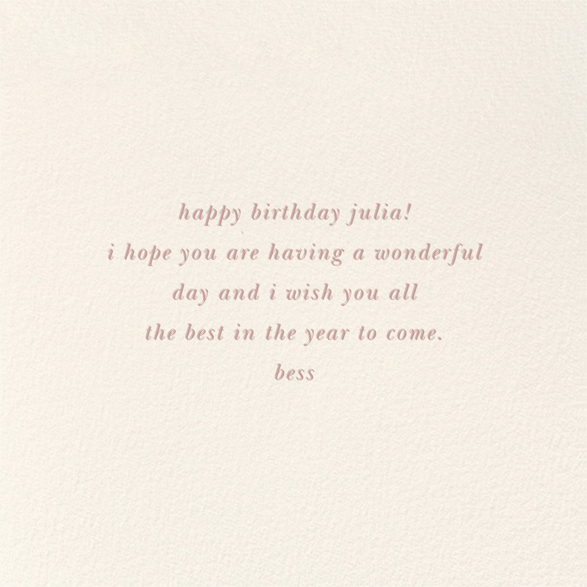 Balloon Birthday (Greeting) - kate spade new york - Cameo - card back