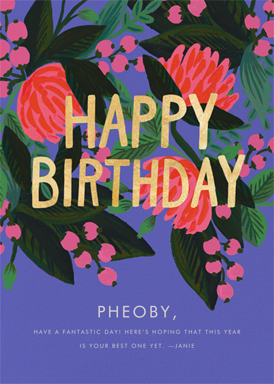 Floral Canopy - Rifle Paper Co. - Cameo