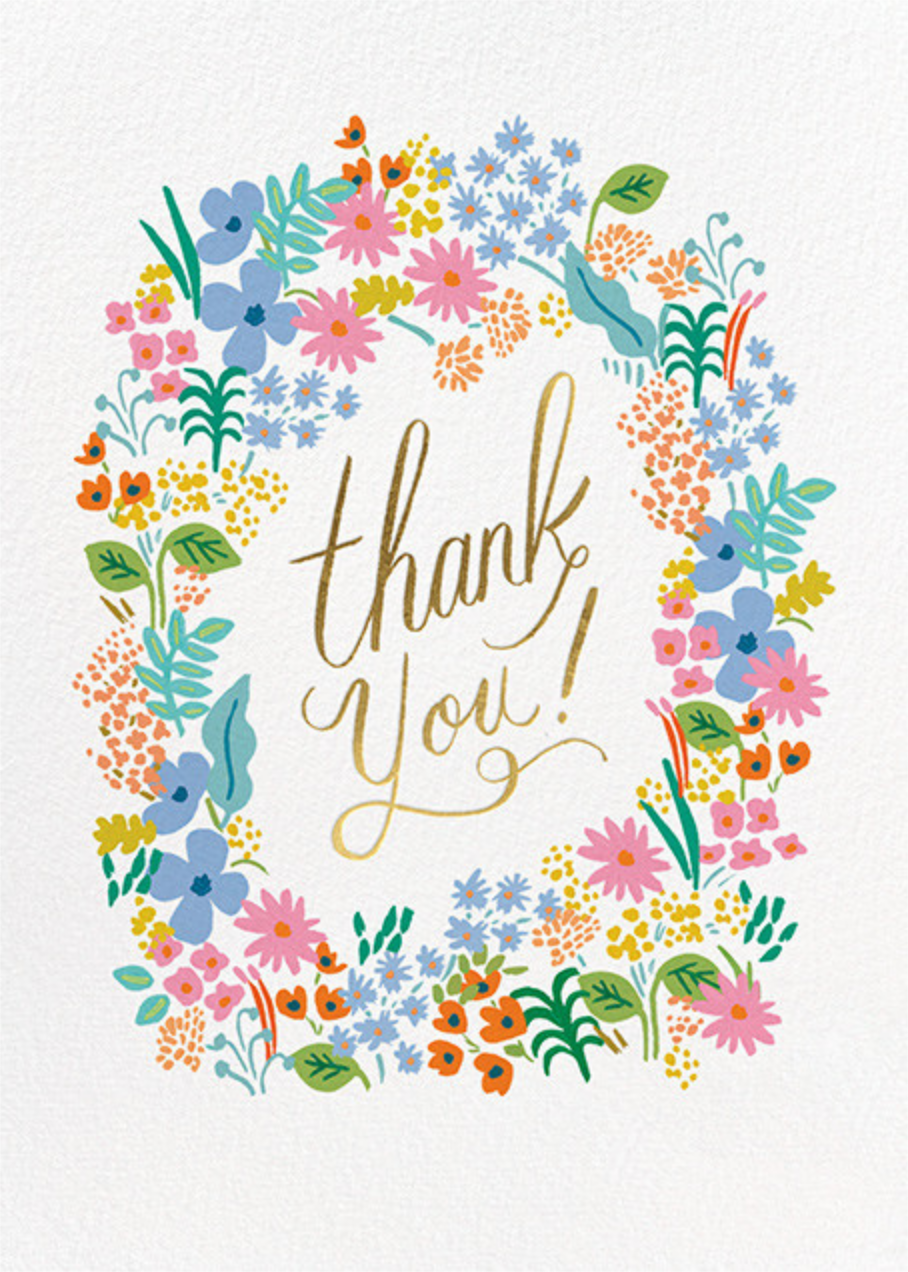 Meadow Thank You - Rifle Paper Co. - Cameo