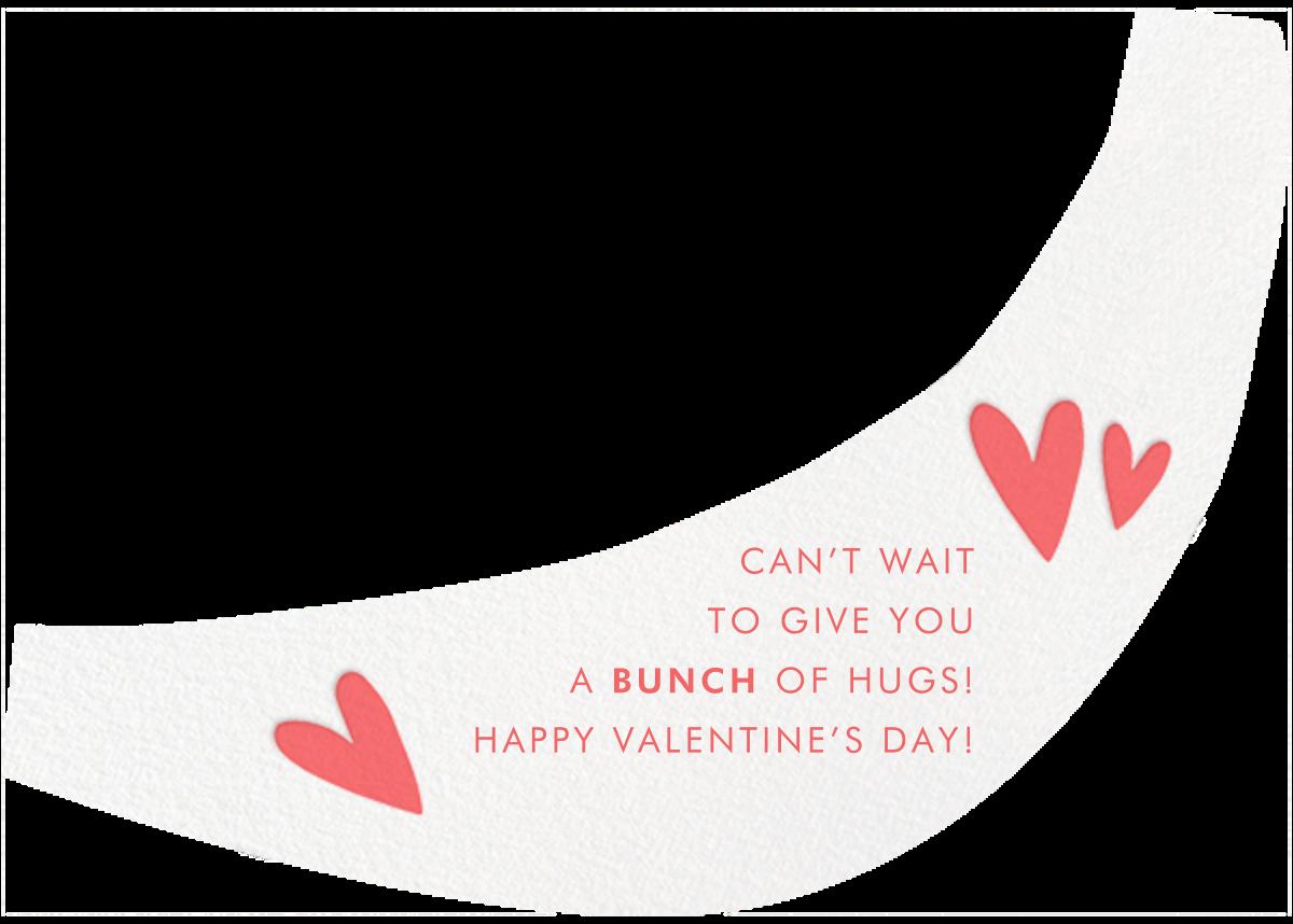 Banana Buddy - Hello!Lucky - Valentine's Day - card back