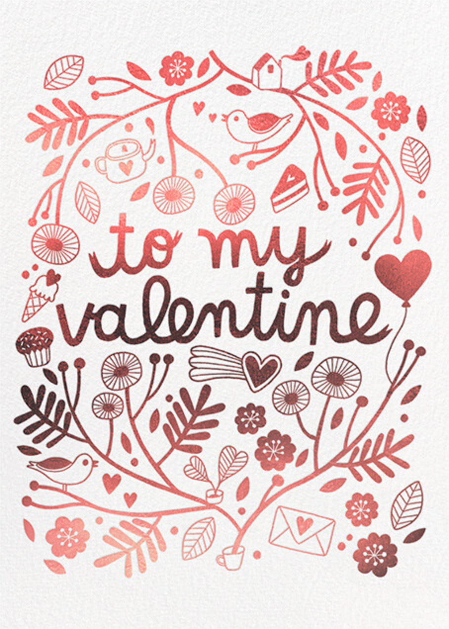 Favorite Things (Anke Weckmann) - Red Cap Cards - Valentine's Day