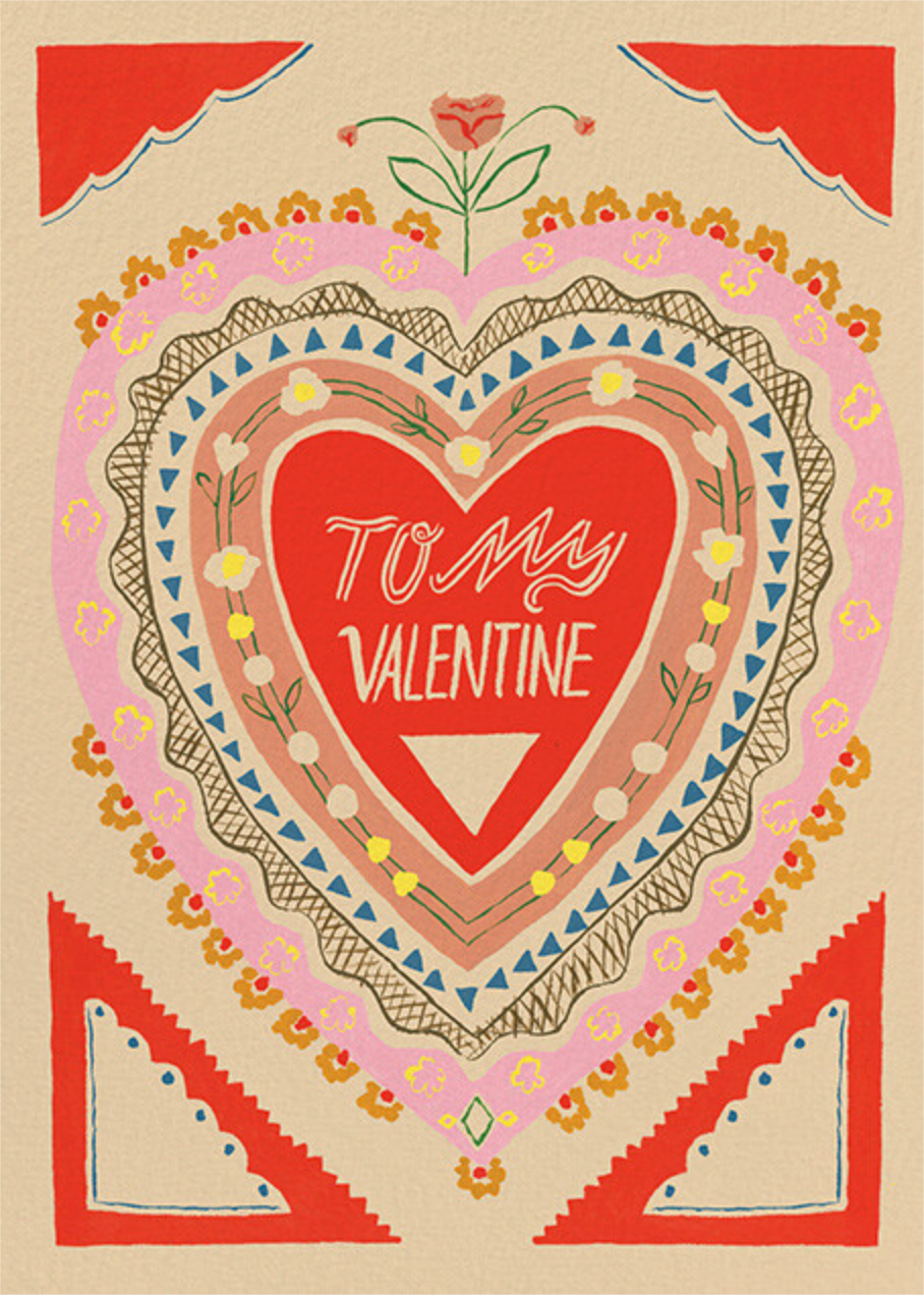 Vibrant Love (Emily Isabella) - Red Cap Cards - Valentine's Day