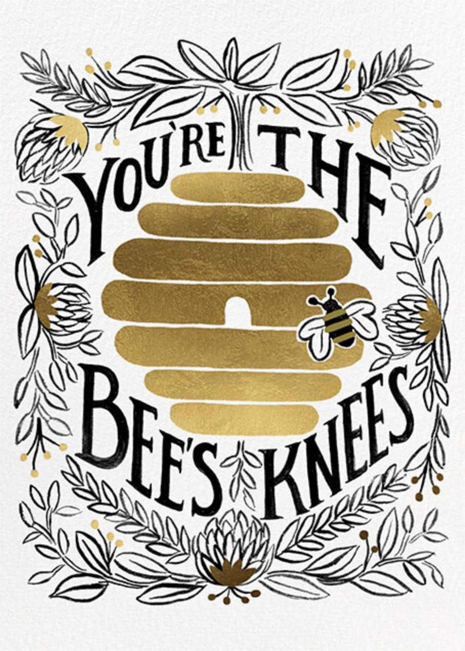 You're the Bee's Knees - Rifle Paper Co. - Valentine's Day