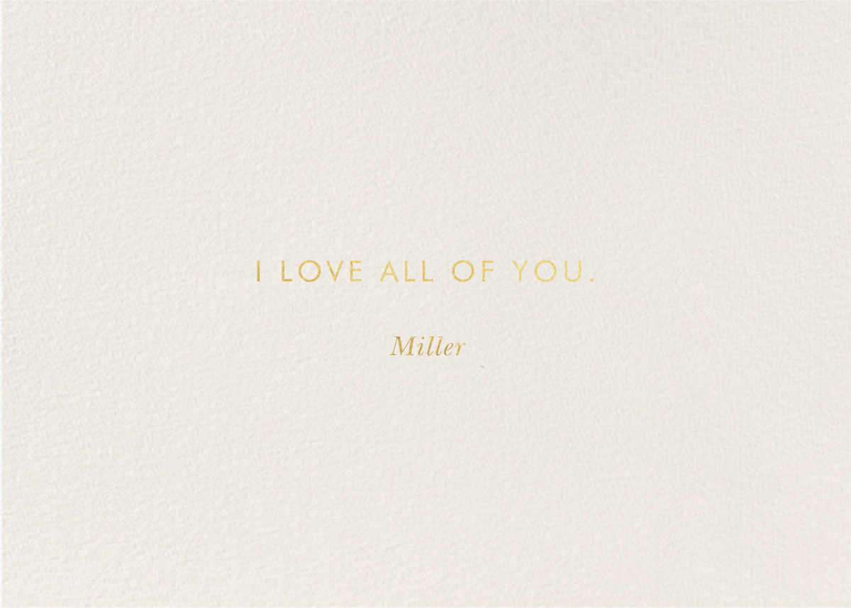 Wild About You Leopard - Rifle Paper Co. - Back