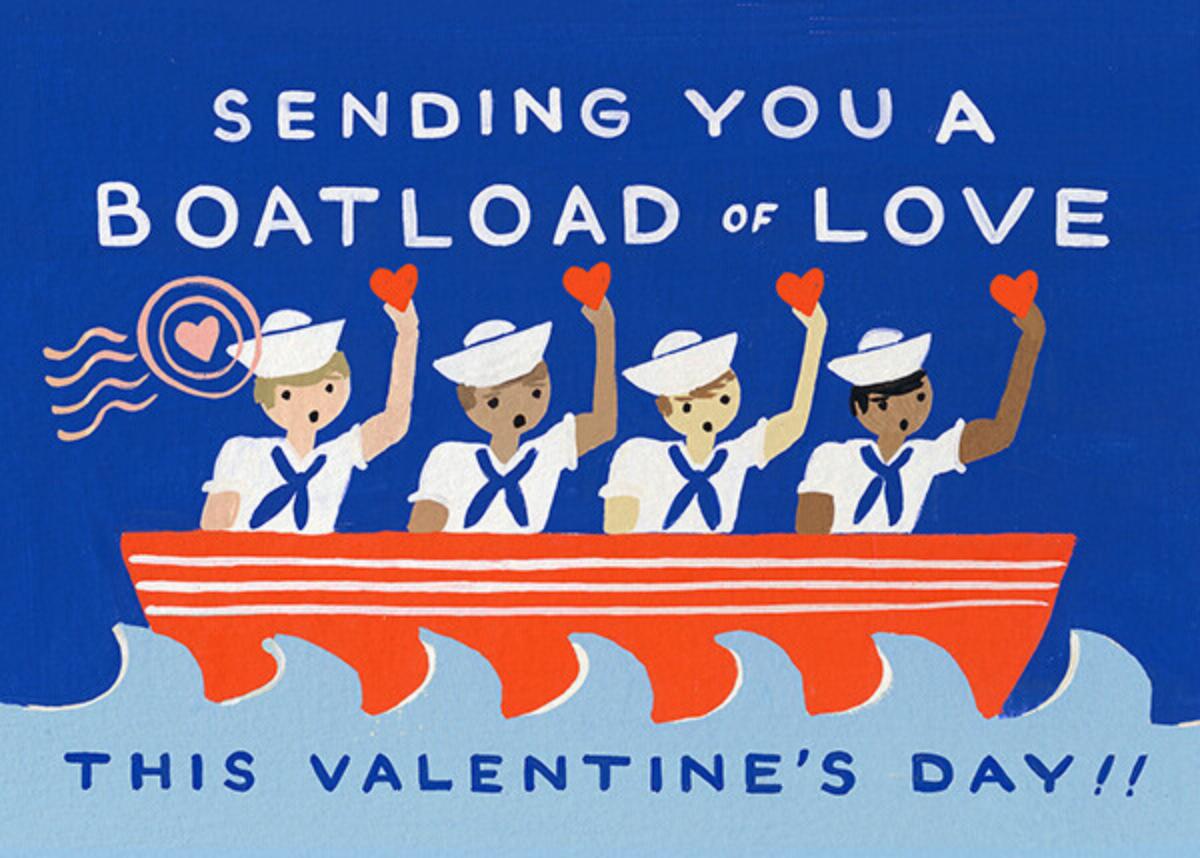 Boatload of Love - Rifle Paper Co. - Valentine's Day