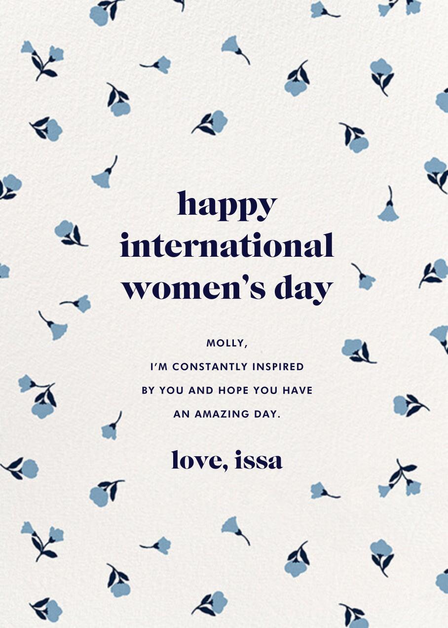 Dainty Bloom - kate spade new york - International Women's Day