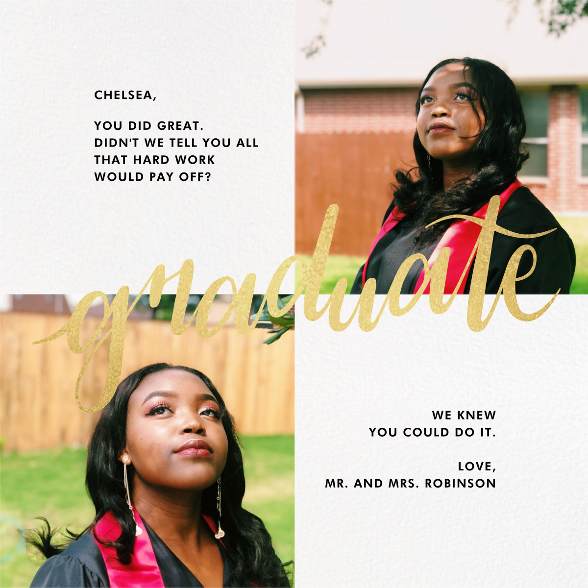 Squared Away - Paperless Post - Graduation cards