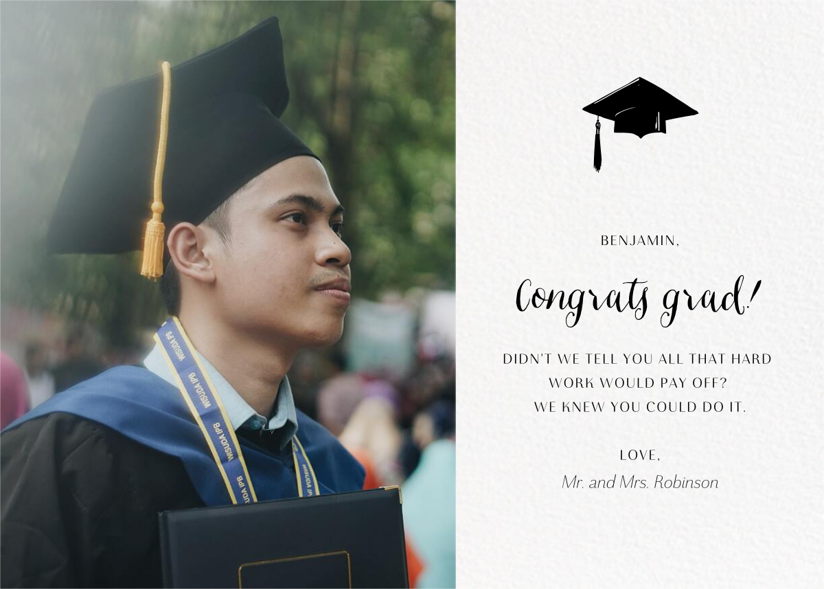 Photo Spread - White - Paperless Post - Graduation party