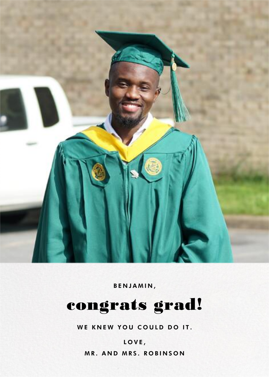 Split Screen - White - Paperless Post - Graduation cards