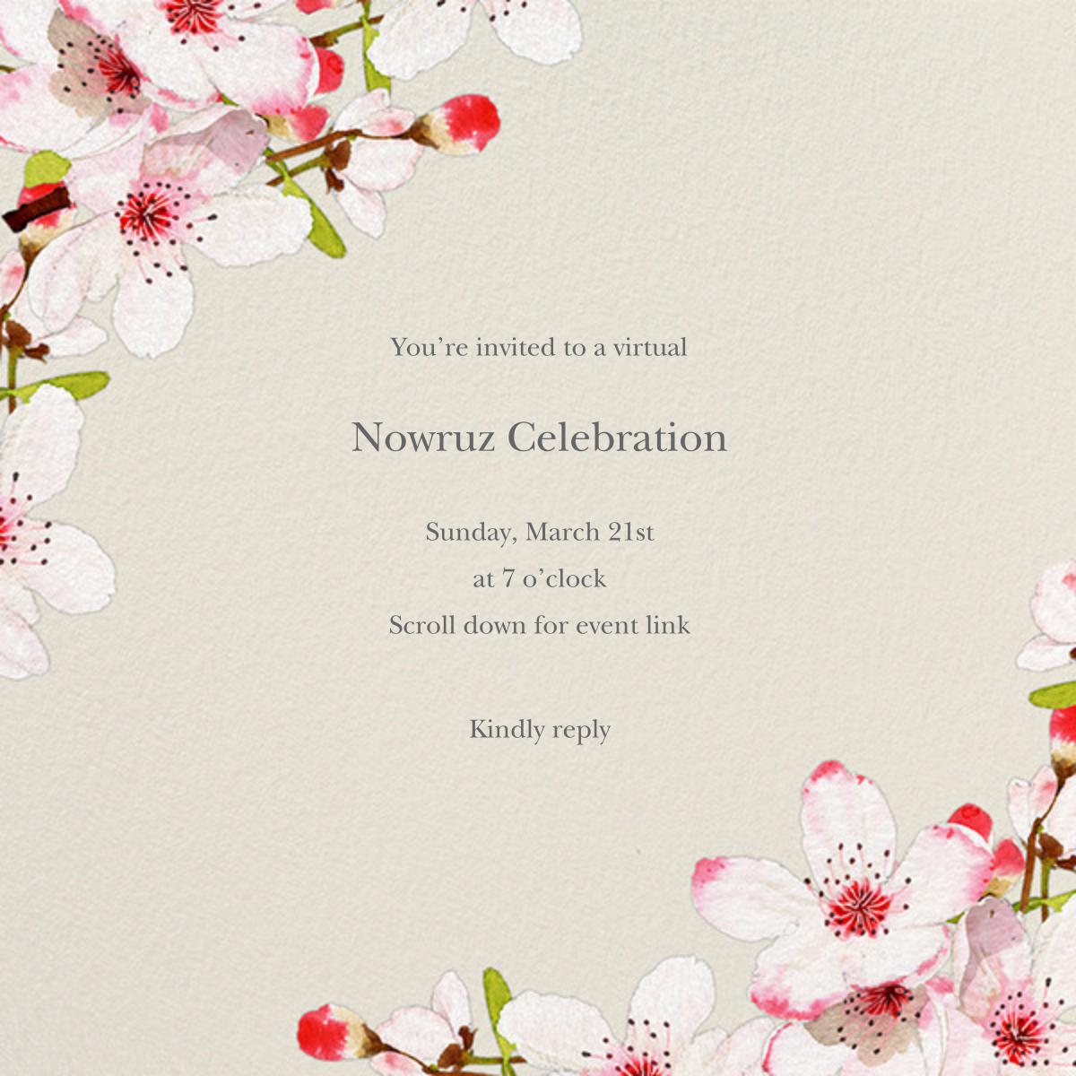 Blushing Blossoms - Felix Doolittle - Virtual parties