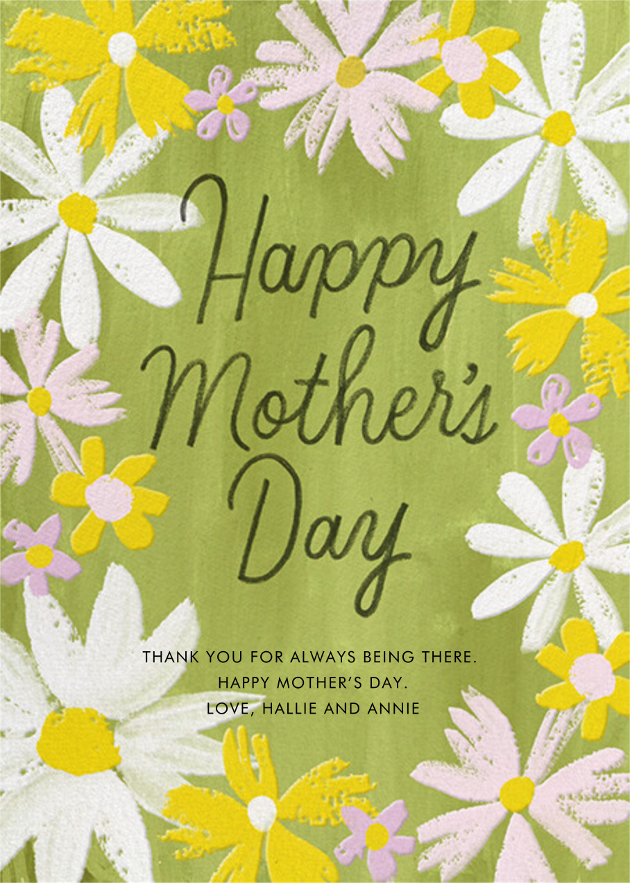 Quaint Paint - Paperless Post - Mother's Day