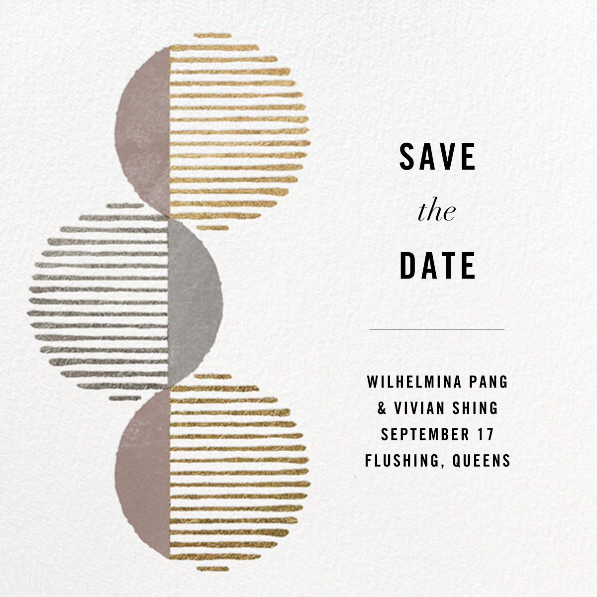 Saros - Kelly Wearstler - Save the date