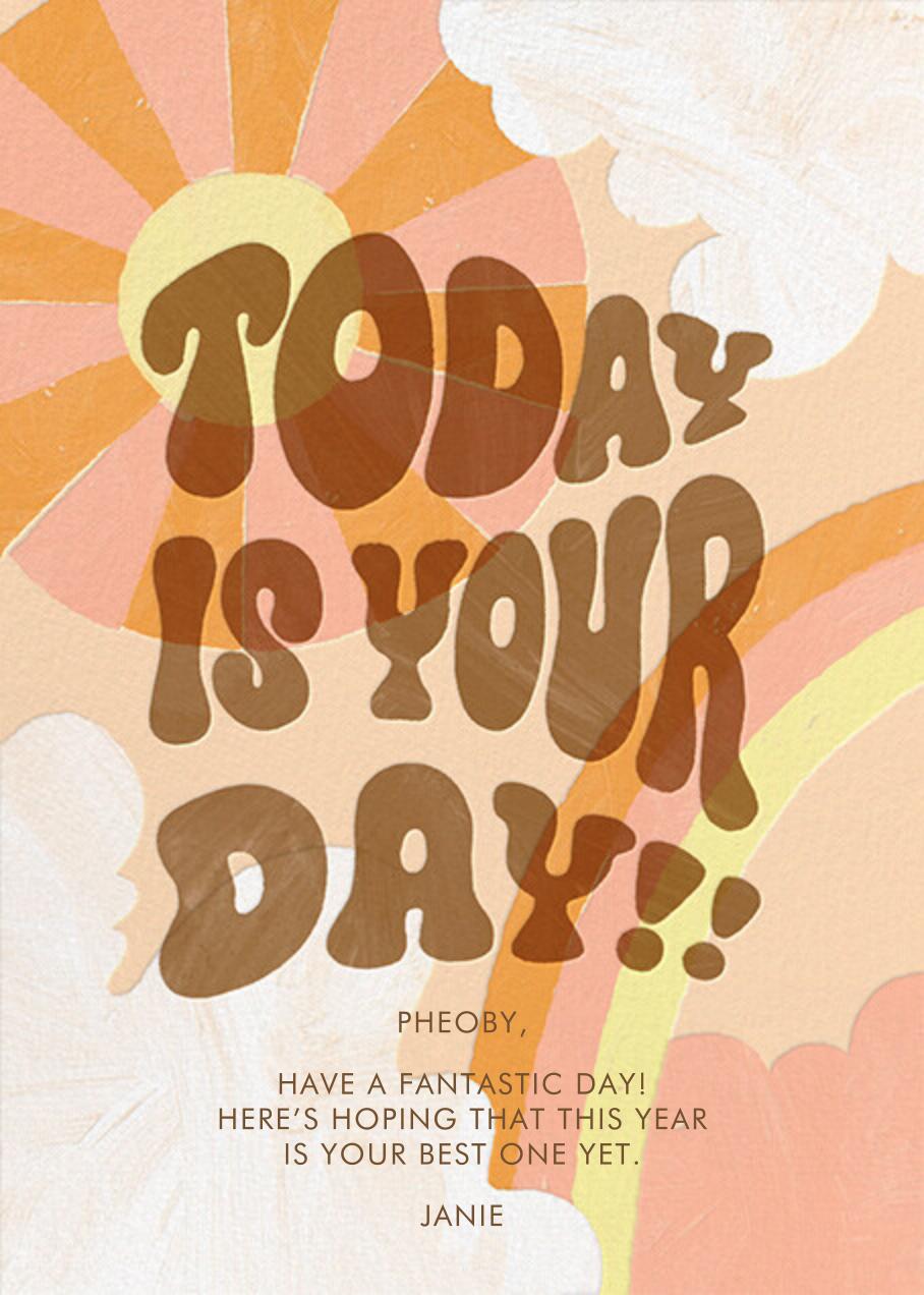 Happy Skies - Paperless Post - Birthday