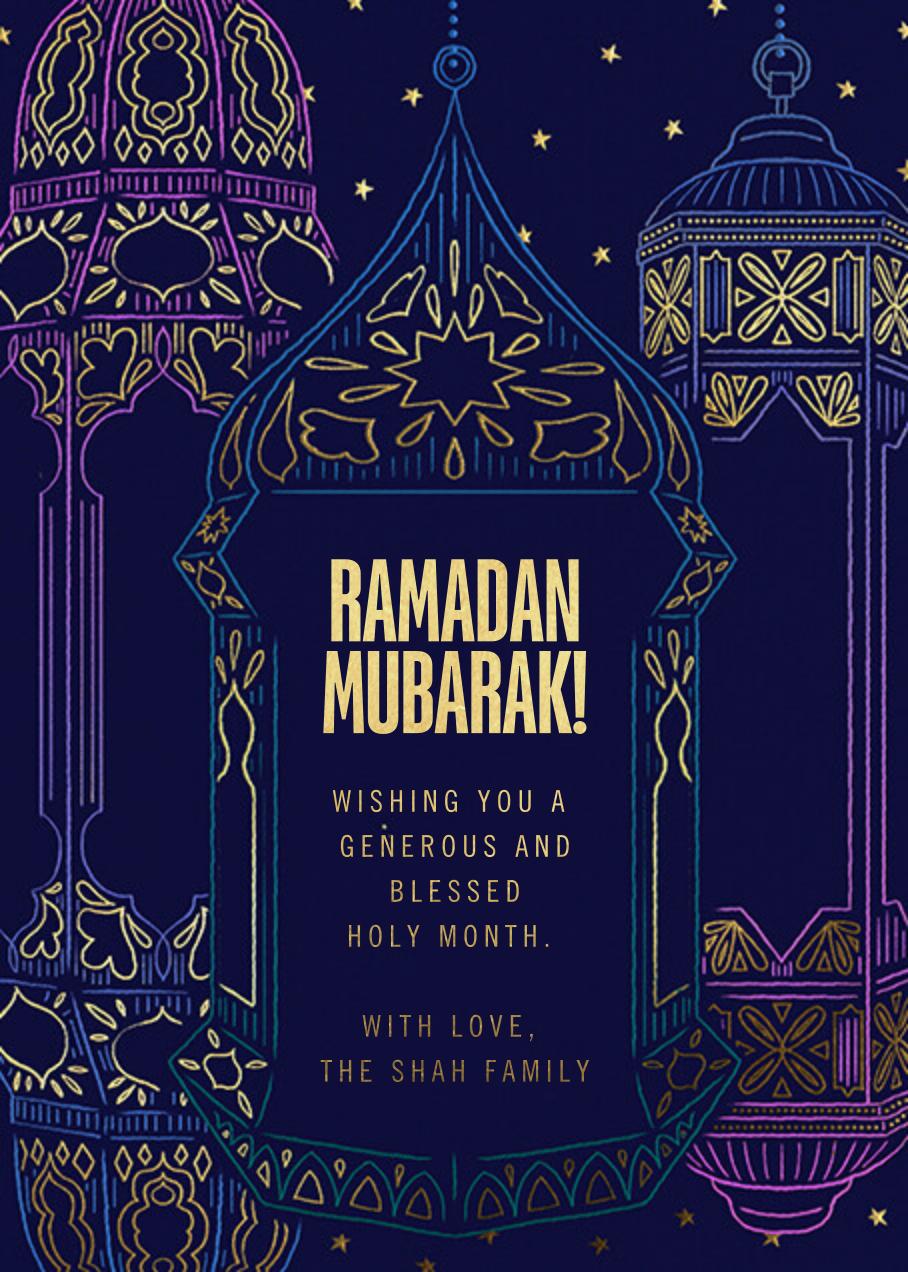 Ramadan Glow (Greeting) - Paperless Post