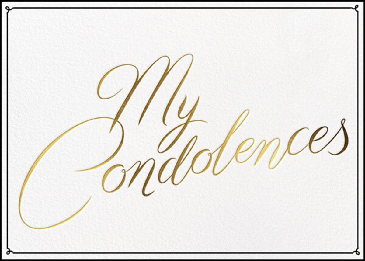 Condolences - Paperless Post - Sympathy