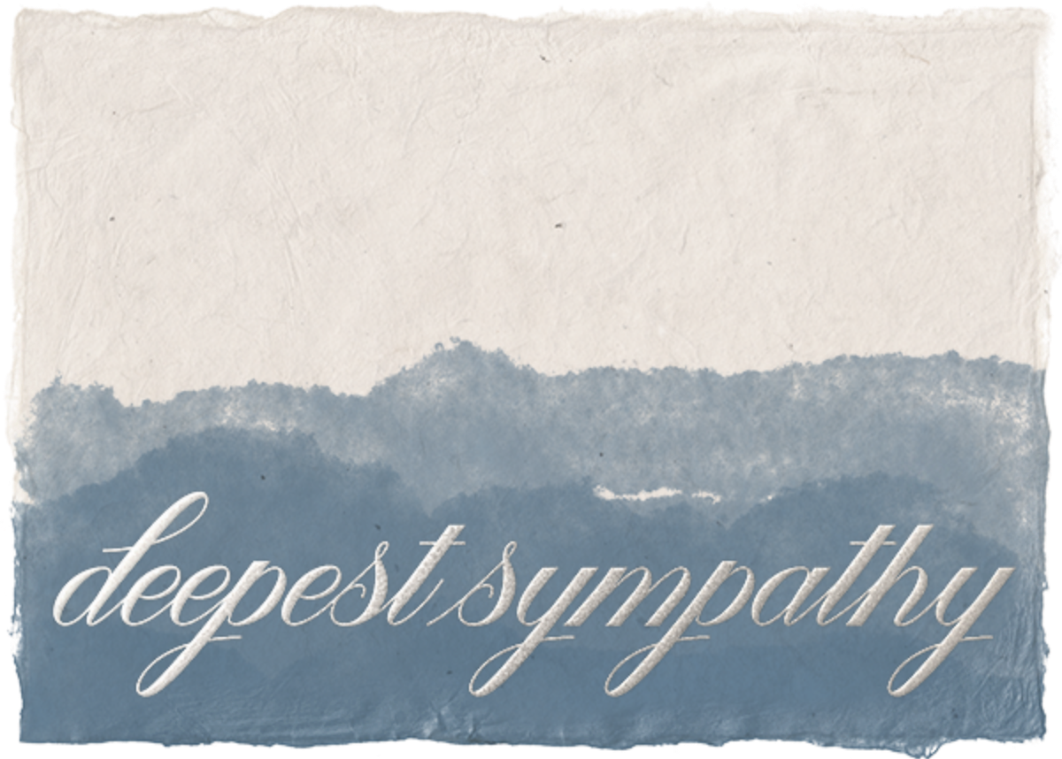 Deep Sympathy - Paperless Post - Sympathy