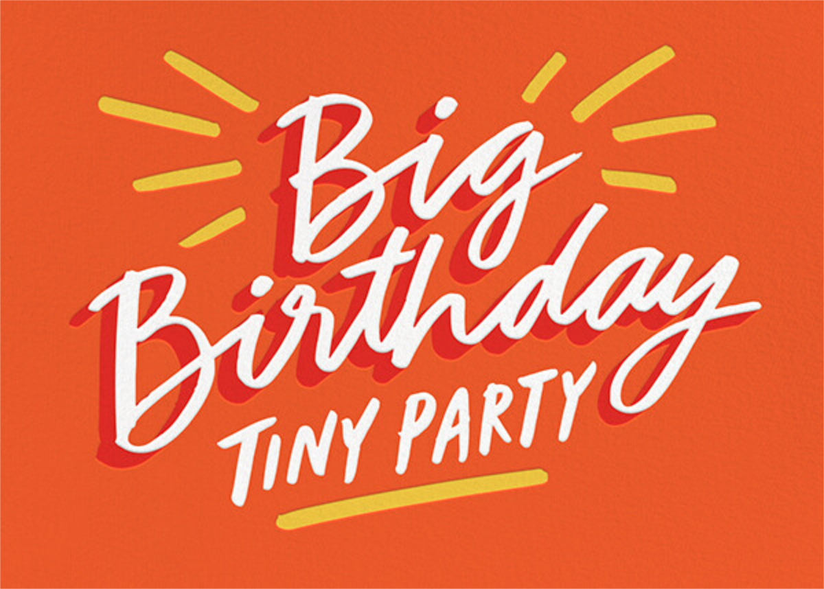 Tiny Party - Cheree Berry Paper & Design - Adult birthday
