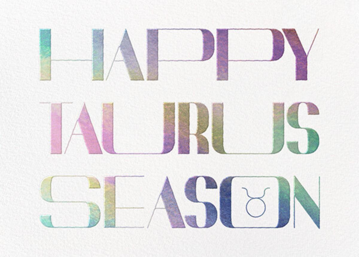 Your Season - Taurus - Paperless Post - Adult birthday