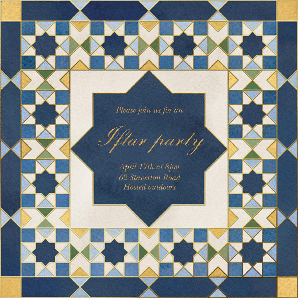 Mosaic Beauty - Paperless Post - Ramadan