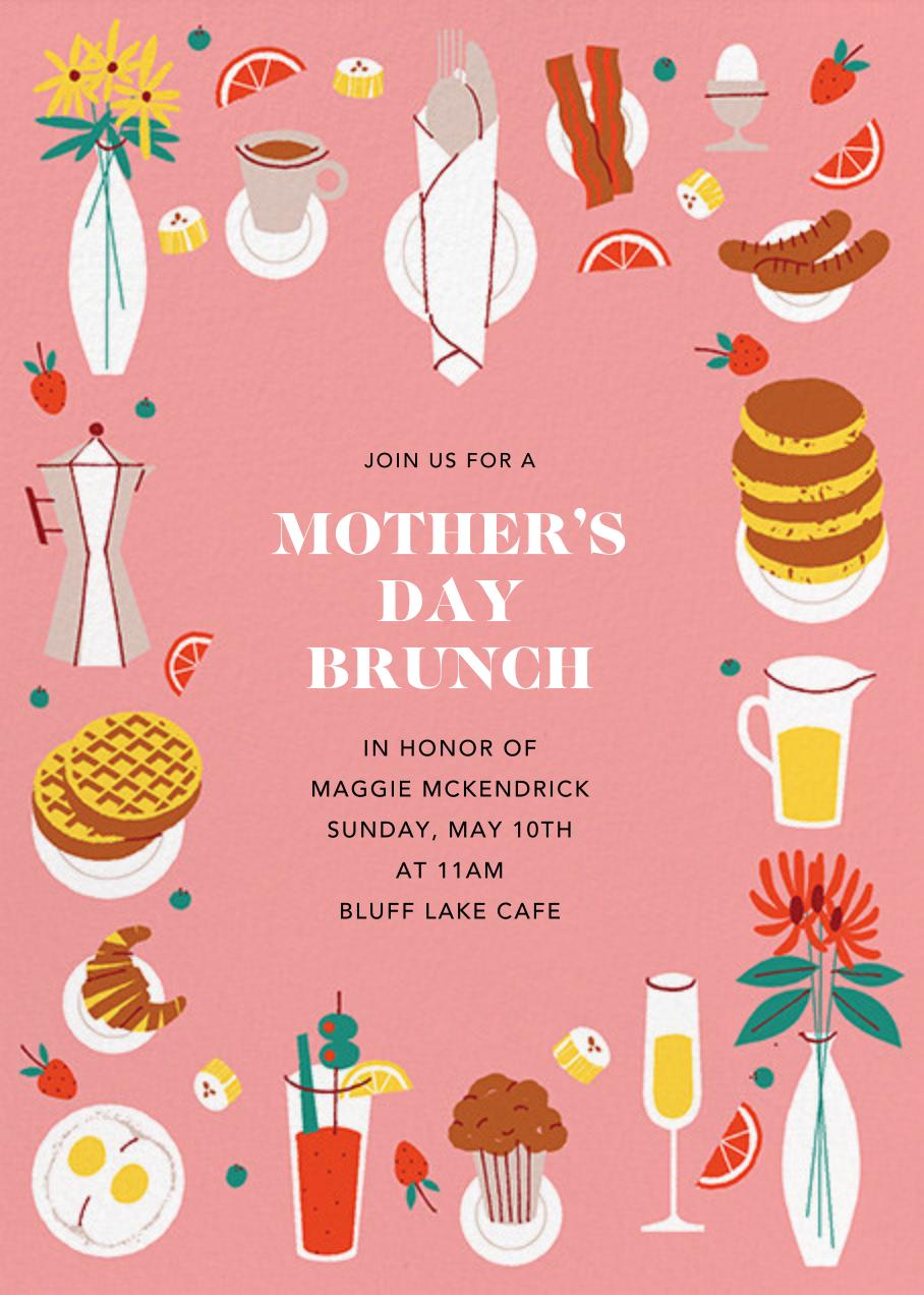 Brunch Buffet - Paperless Post - Mother's Day