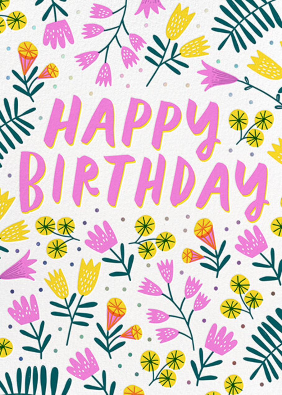 Birthday Garden - Hello!Lucky - Birthday