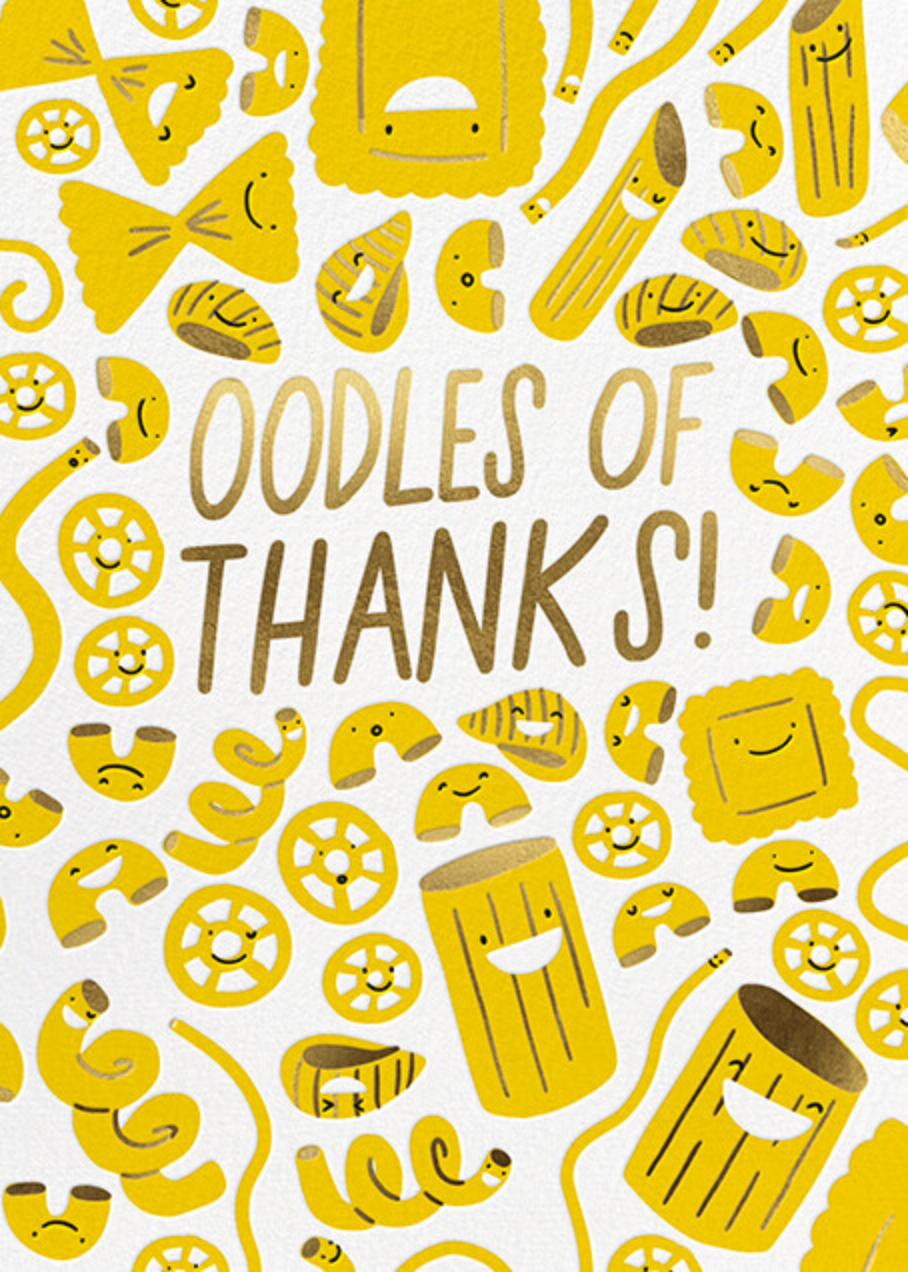 Oodles - Thank You - Hello!Lucky