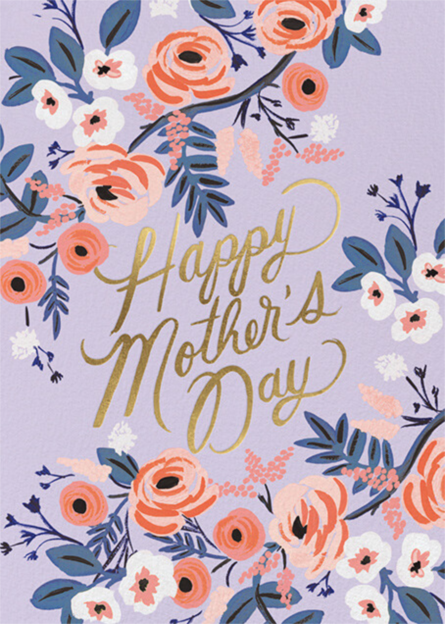 Rosy Mother's Day - Rifle Paper Co.