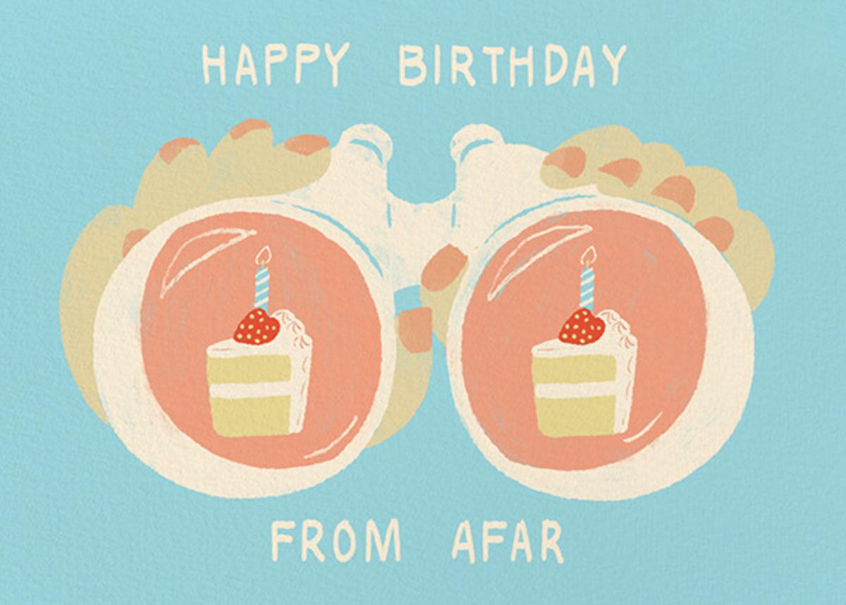Binocular Birthday - Light - Paperless Post - Birthday
