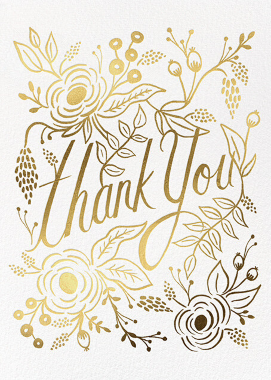 Marion Thank You - Rifle Paper Co.