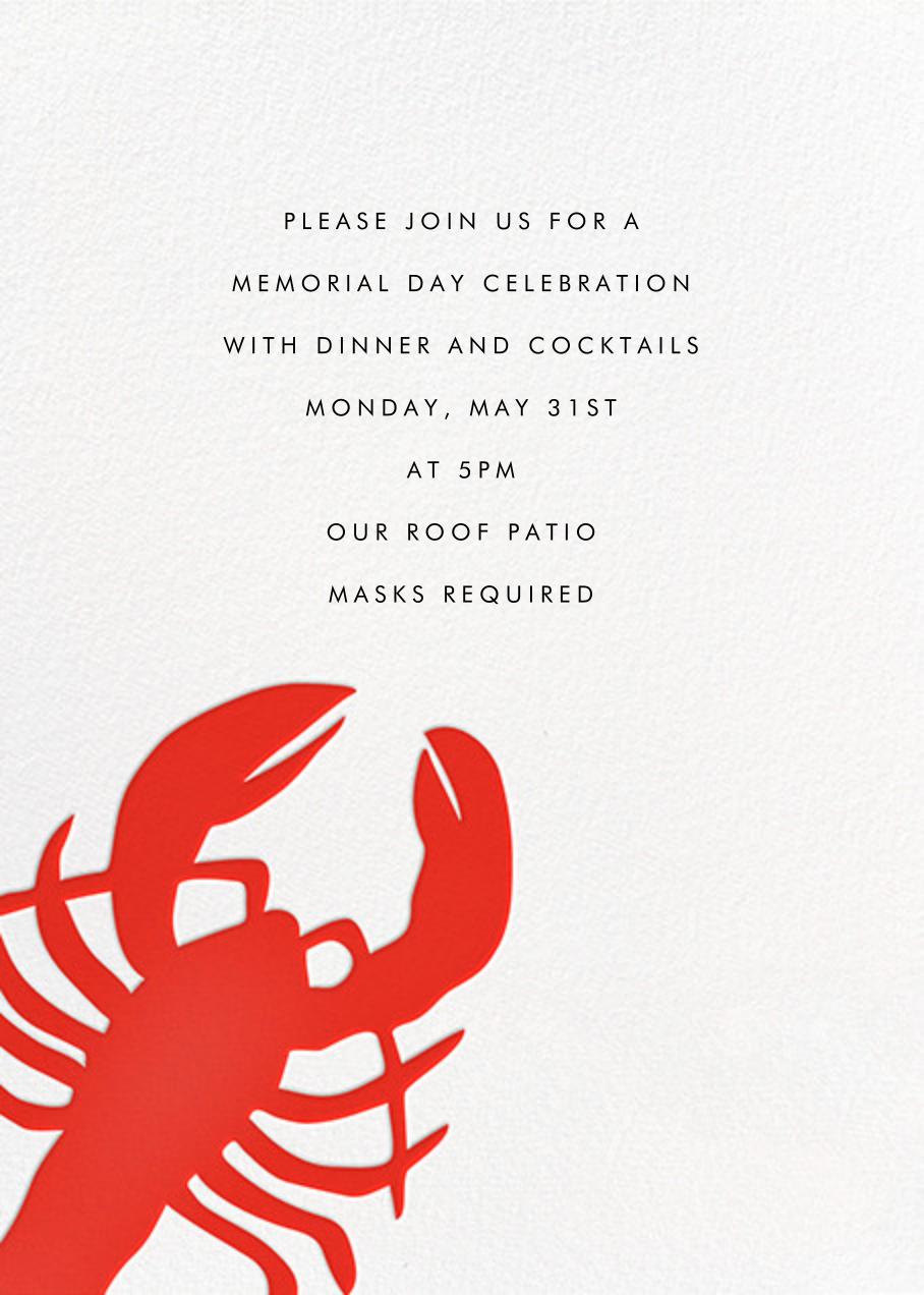 Large Lobster - Linda and Harriett