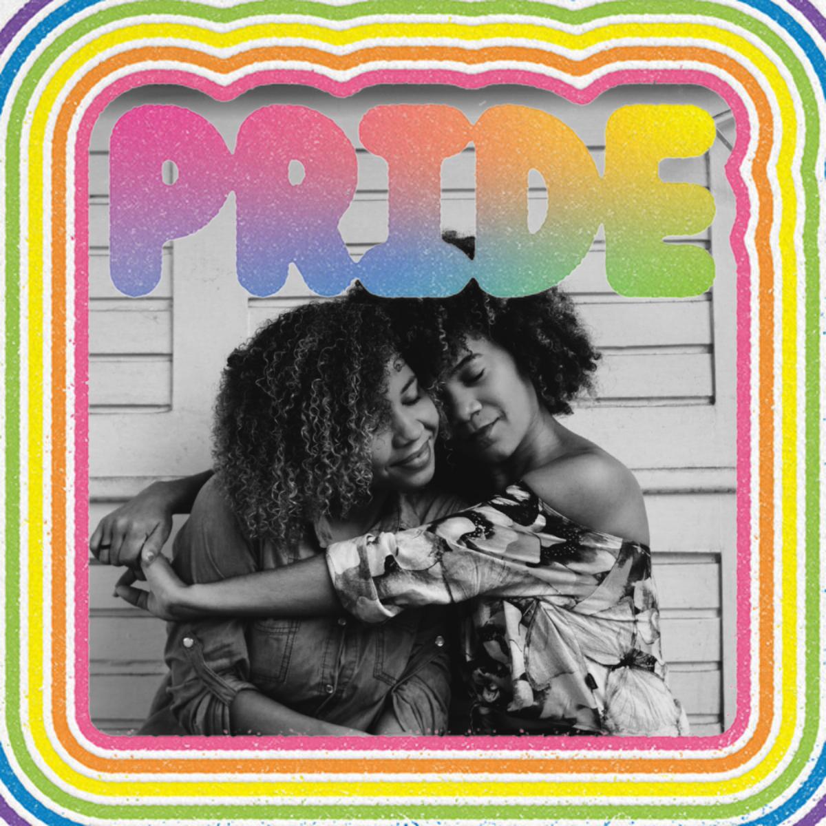 Round Rainbow Photo - Paperless Post