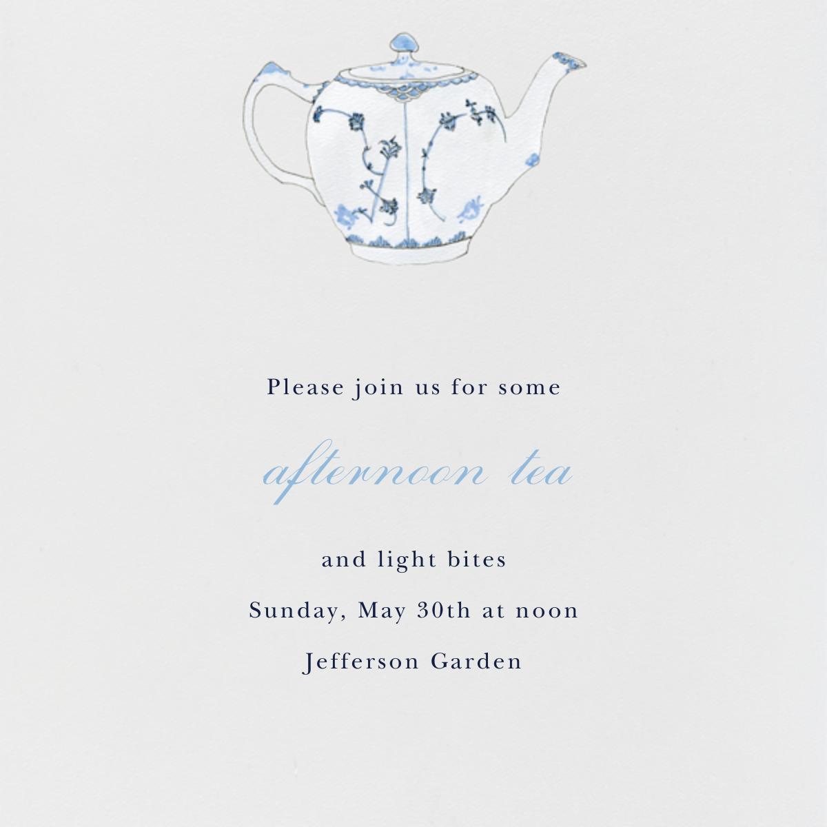 Tea Time - Paperless Post