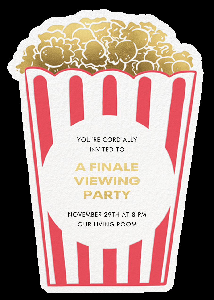 Corny Dad - Invitation - Hello!Lucky - Viewing party